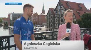 Agnieszka Cegielska rozmawia z Tomaszem Dobrowolskim