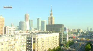 Poranne mgły w Krakowie i Warszawie (TVN24)