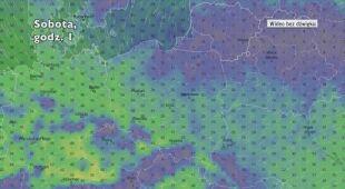 Prognozowane porywy wiatru w ciągu pięciu dni   wideo bez dźwięku
